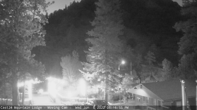 Castle Mountain Lodge Webcam
